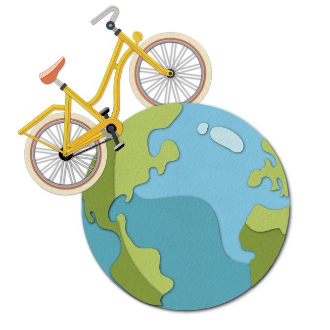 A Better Planet Fighting Climate Change with Pedal Power creative image by Abi Allen