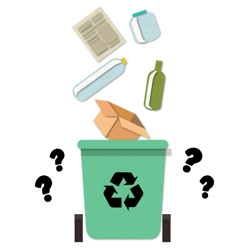 """Graphic image for A Better Planet blog post """"Where Does Our recycling Really Go?"""""""
